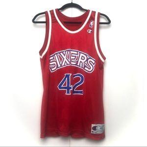 Champion Sixers Stackhouse 42 NBA Jersey
